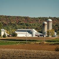 Arpentage d'une propriété en zone agricole